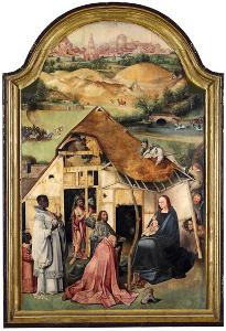 Hieronymus Bosch, 'Anbetung der Könige'